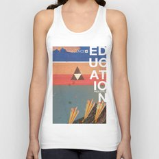 Education - prepare for your mind to be blown Unisex Tank Top
