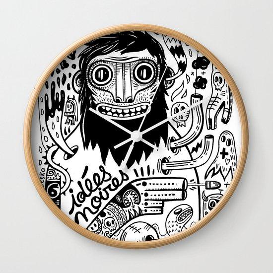 Idées noires Wall Clock
