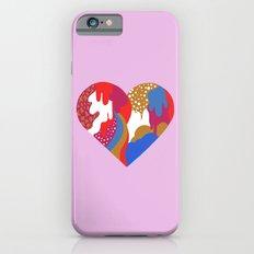 Drippy Heart iPhone 6s Slim Case