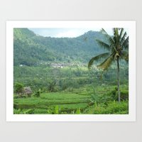 indonesia Art Prints featuring Indonesia by Melia Metikos