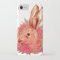 hare iPhone & iPod Cases featuring Hare by batcii