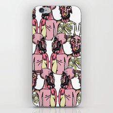 Siamese Crowd iPhone & iPod Skin