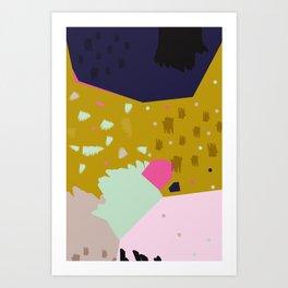 Crumbling No.1 Art Print