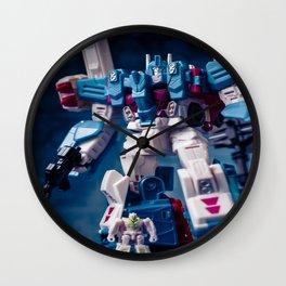 """""""Magnus & Minimus Ambus"""" Wall Clock"""