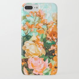 Blush Garden #painting #nature #floral iPhone Case