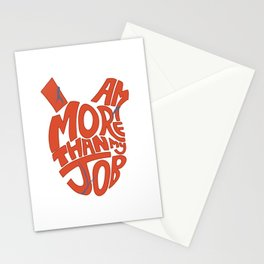 Job =/= Self Stationery Cards