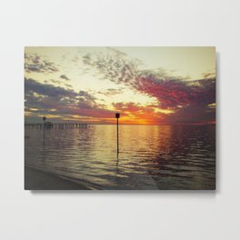 Dock of the Bay Metal Print