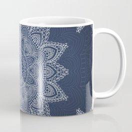 Blue mandala tibetan pattern Coffee Mug