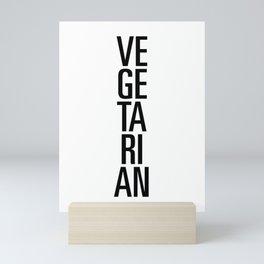 Vegetarian Mini Art Print