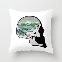 Sea - Mirror II Throw Pillow