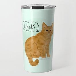 What's New Kitty Cat Travel Mug