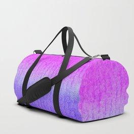 Purple Watercolor Blend Duffle Bag