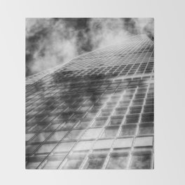 The Shard abstract Throw Blanket