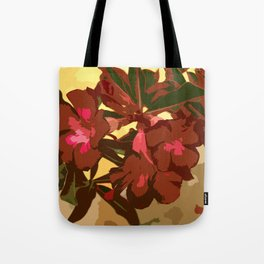 Beautiful Excotic Flowers Tote Bag
