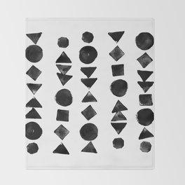 Geometry 3 Throw Blanket