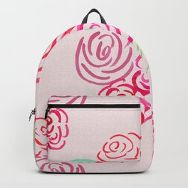 Glorious Rose bunch Backpack