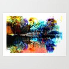Seeyaround Art Print