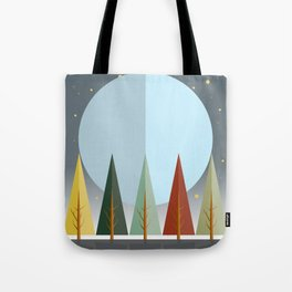 Fall Night Tote Bag