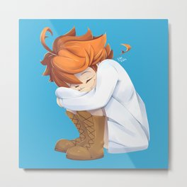 Emma - The Promised Neverland Anime Metal Print