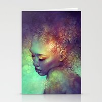 camouflage Stationery Cards featuring Camouflage by Anna Dittmann