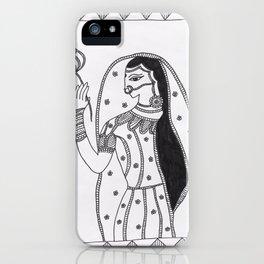Madhubani Art iPhone Case