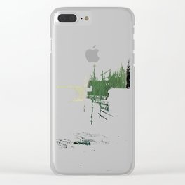 Mists In The Pitons: St. Lucia Clear iPhone Case