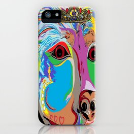 Lady Rottweiler iPhone Case