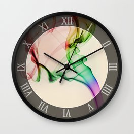 Smoke compositions VI Wall Clock