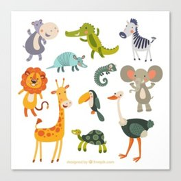animal zoo Canvas Print