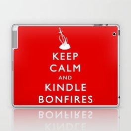 Keep Calm & Kindle Bonfires Laptop & iPad Skin