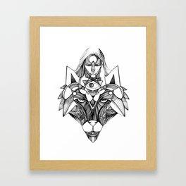 instinto Framed Art Print