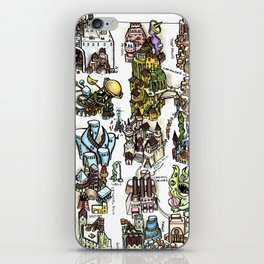 The Lost City of Forgotten Gods iPhone Skin