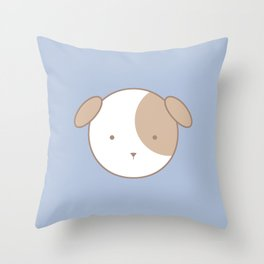 Dash Dog Throw Pillow