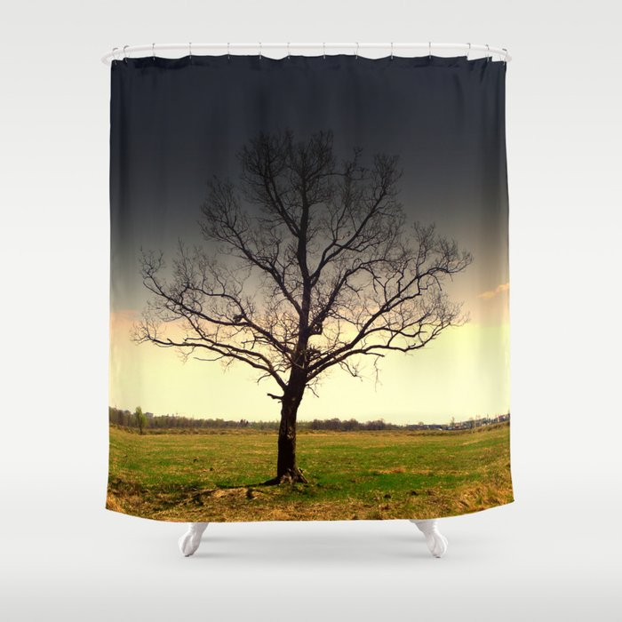 Tree Shower Curtain by magicemilia