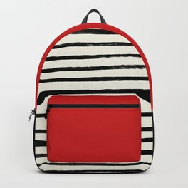 Red Chili x Stripes Backpack