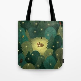 Enchanted Forest Baby Fawn Tote Bag