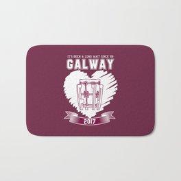 All Ireland Hurling Champions: Galway (Maroon/White) Bath Mat