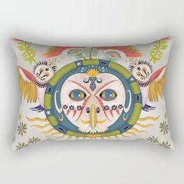 Inca Owl Rectangular Pillow
