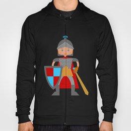 Brave medieval knight Hoody