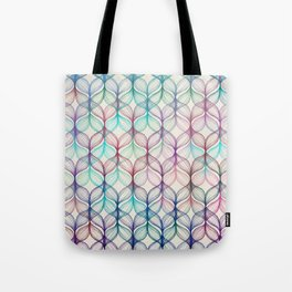 Mermaid's Braids - a colored pencil pattern Tote Bag