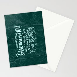 HOLDEN CAULFIELD ON ACQUAINTANCES  Stationery Cards