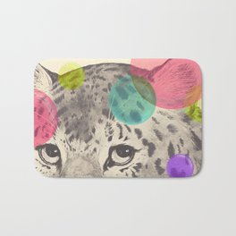 leopard changes his spots Bath Mat