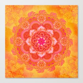 Sun Bliss Canvas Print