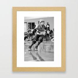 Roller_Derby Framed Art Print