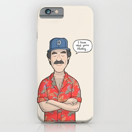 Magnum PI iPhone Case