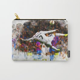 Cristiano Ronaldo - THE TRADE MARK KICK Carry-All Pouch