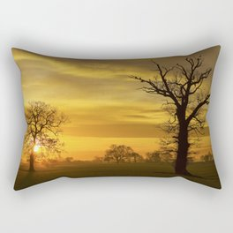 Sunrise Landscape Rectangular Pillow