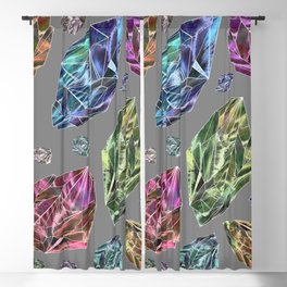 Asteroids in Space Blackout Curtain