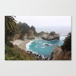 Foggy Day in Big Sur Canvas Print