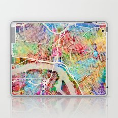 Philadelphia Pennsylvania Street Map Laptop & iPad Skin
